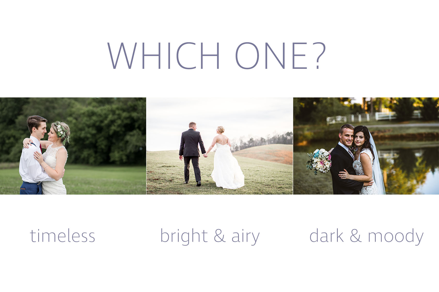 Our Wedding Photography Editing Style Grizzle Photo Video