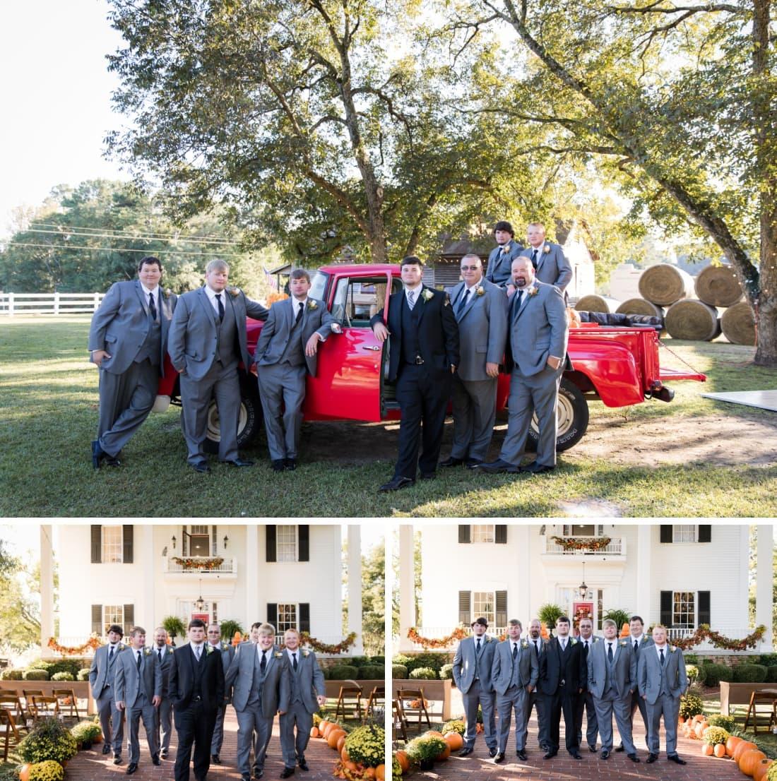 Dahlonega Wedding Groomsmen