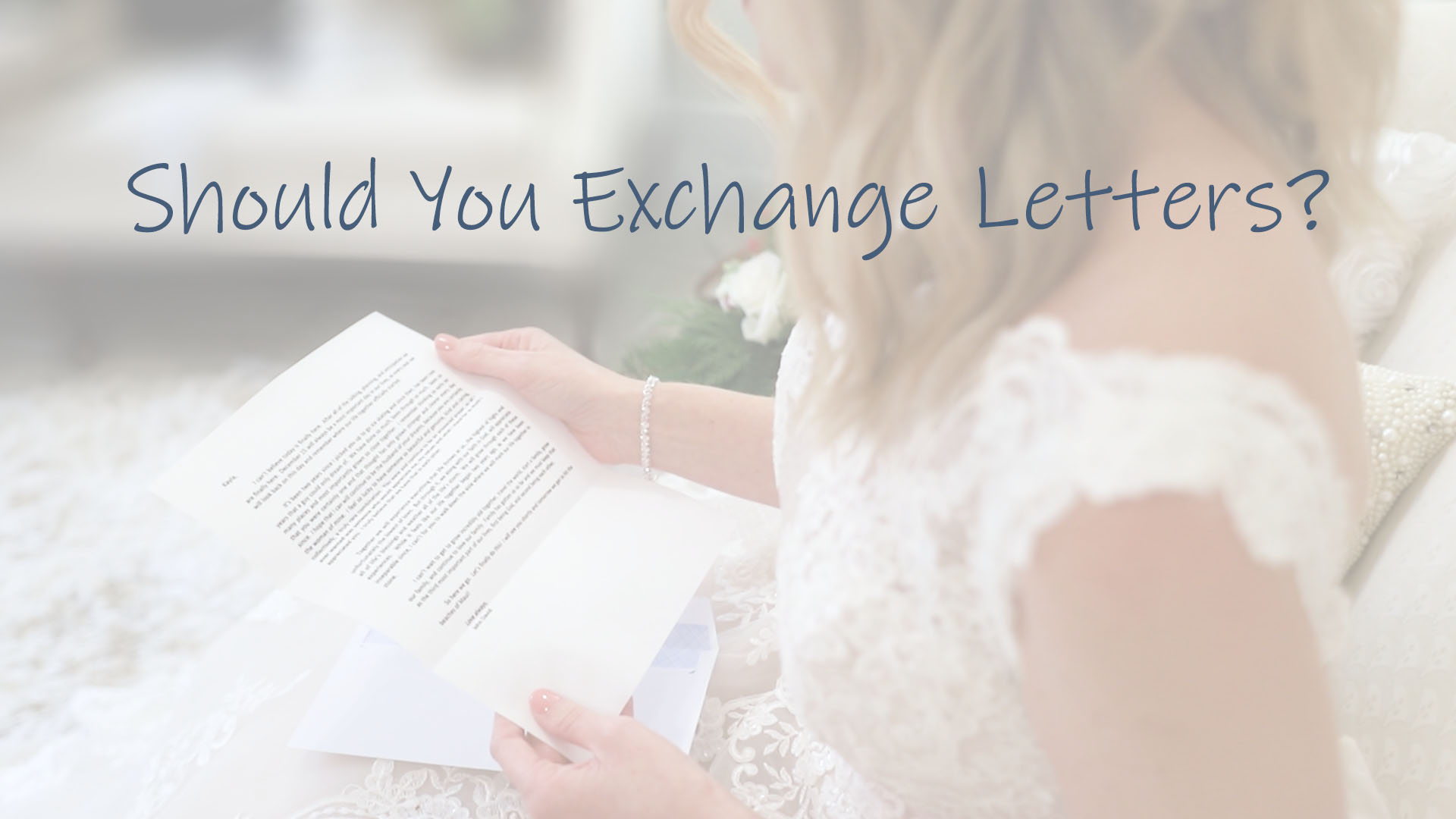 Exchange Letters?