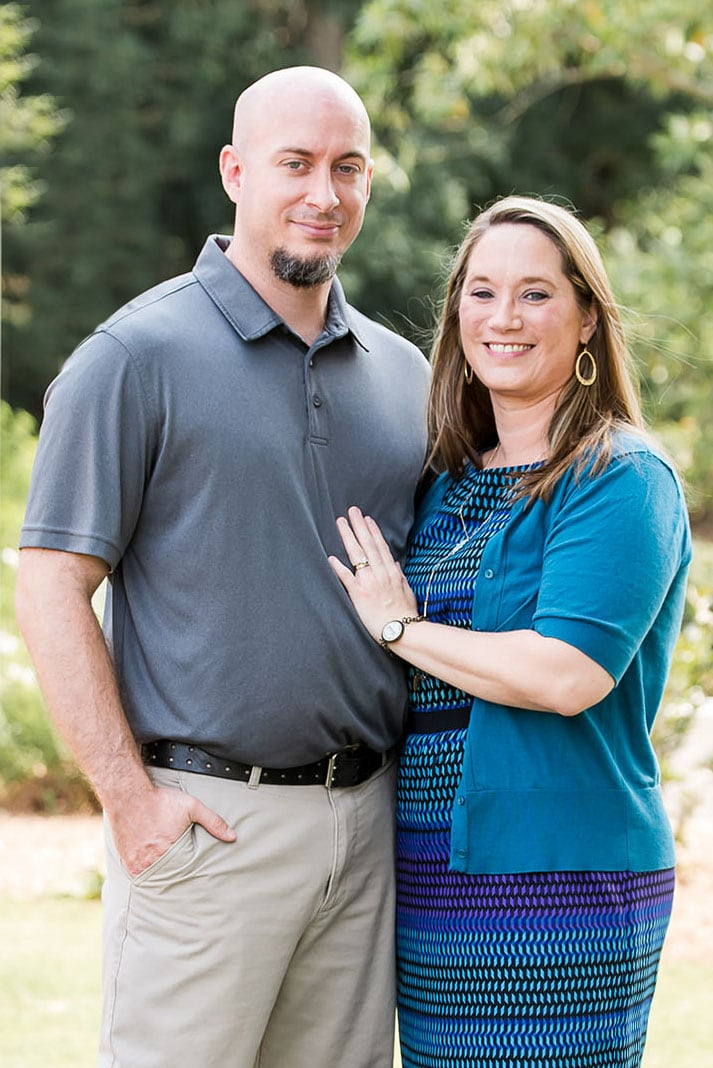 Portrait of Tracie and Jeremy Grizzle